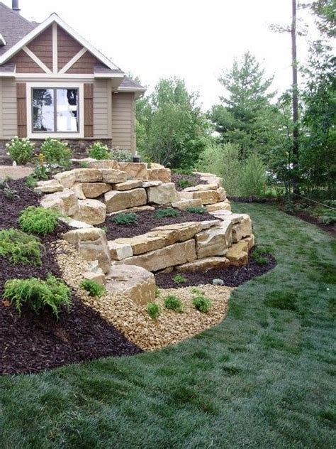 large landscaping boulders 25 best ideas about large backyard landscaping on large backyard front yard decor