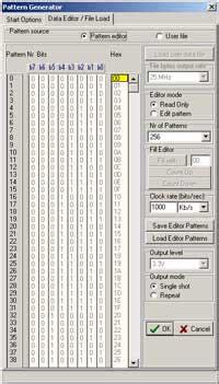 pattern generator logic analyzer janatek la gold 36 logic analyzer with integrated pattern