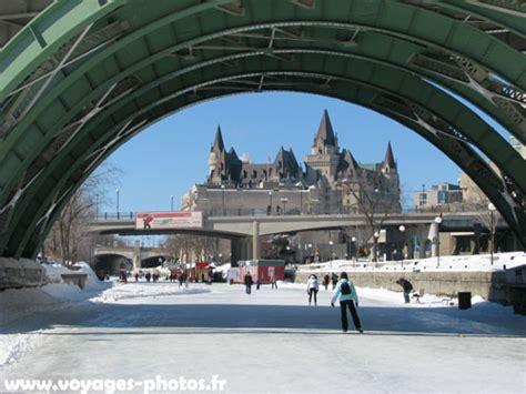 Canal Rideau Patinage by Ottawa Voyages Et Photos Au Canada Photos De Paysage