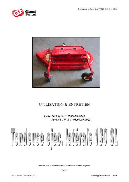 Tondeuse Autoportée Electrique 2071 by Recherche Gianni Turbo 4 Tondeuse Autoport 195 169 E