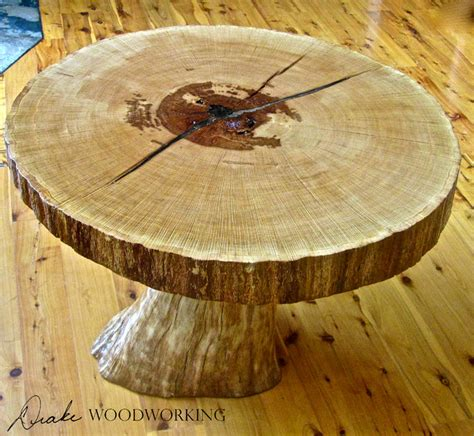ancient oak slab table