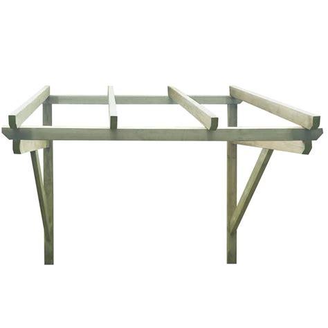 tettoia per porta ingresso tettoia porta d ingresso in legno 200 x 150 x 160 cm