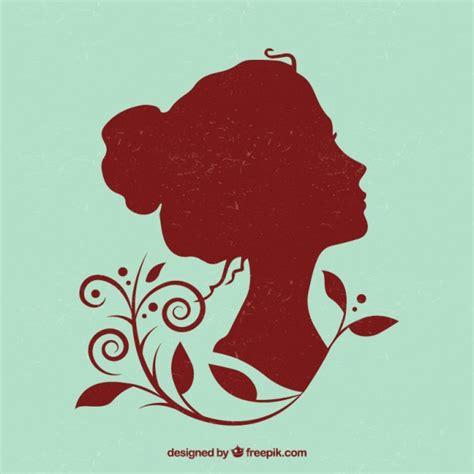 imagenes vectoriales gratis siluetas silueta mujer vintage fotos y vectores gratis