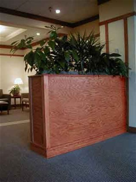 planter box room dividers custom furniture  turn