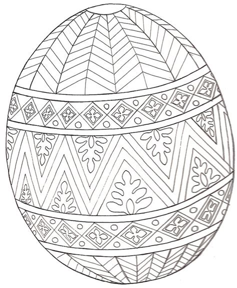 repetitive patterns coloring book inspired by ukrainian easter egg pysanky motifs for leisure rest recreation volume 1 books a design egg act ivies sheets