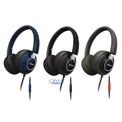 Philips She3705 Stereo Earphone With Mic Headset Headphone She 3705 philips shl5605 citiscape downtown headphones stereo