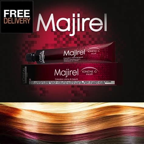 l oreal professional majirel majiblond hair colour 50ml loreal hair dye colour ebay l oreal professional majirel majiblond majirouge hair colour loreal 50ml ebay
