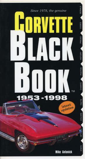 the official site of the corvette black book corvette