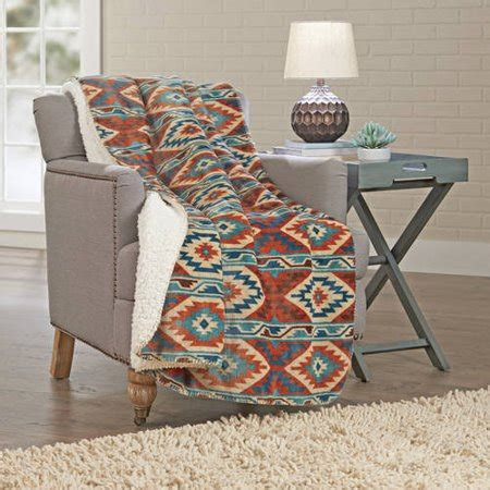 Better Homes And Gardens Throws by Better Homes And Gardens Sherpa Throw Blanket Walmart