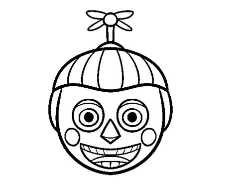 fnaf coloring pages balloon boy balloon boy five nights at freddys free colouring pages