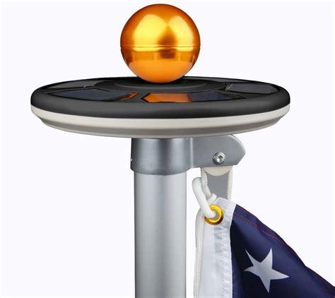 solar powered flag pole lights best solar flagpole lights ledwatcher