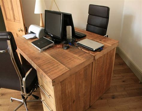 Reclaimed Wood Office Desk Reclaimed Wood Home Office Desks Recycled Things