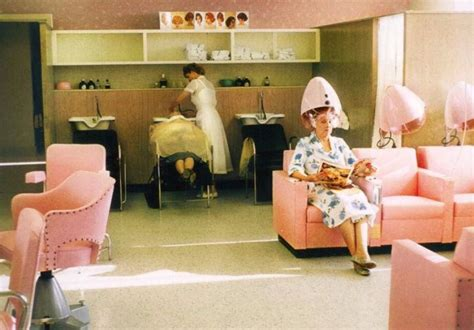 hair dresser s day inside vintage beauty salons from the 1950s and 1960s