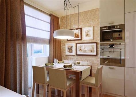 decorar cocina  comedor juntos cocinas pequenas