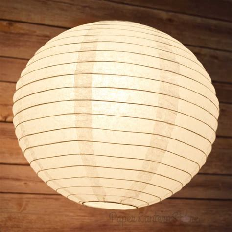hanging paper lantern lights 6 quot white round paper lantern even ribbing hanging light