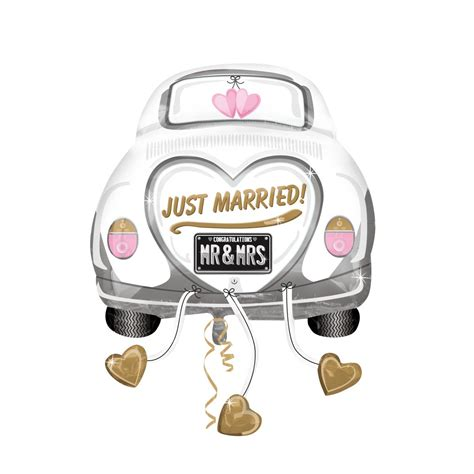 Just Married Auto Zum Ausdrucken by 23 Quot X 31 Quot Wedding Just Married Car Sold Out Flower