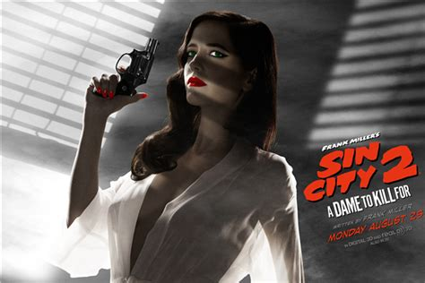 wallpaper eva green sin city custom canvas art sin city poster sexy eva green wall