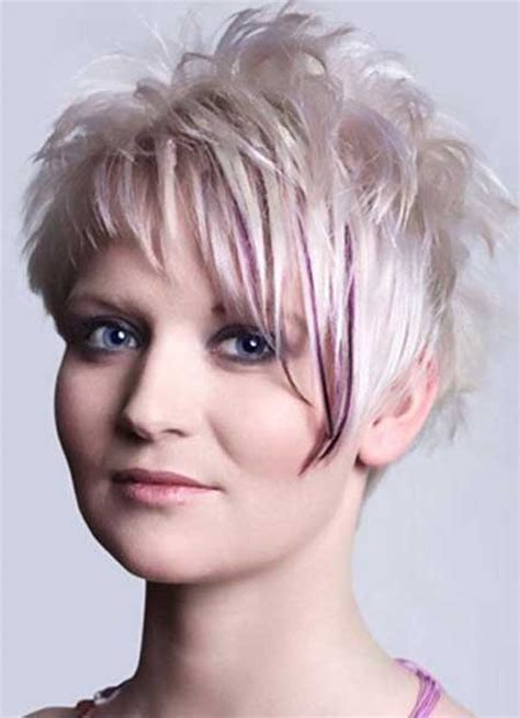 highlite only bangs stylish highlights for short hair haircuts hairstyles