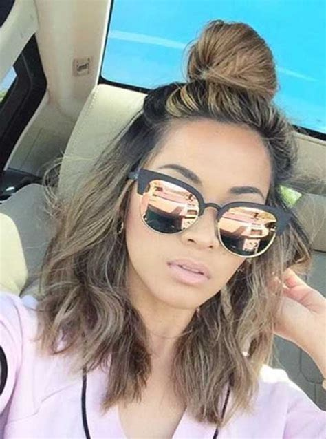 Half Bun Hairstyle by Really Stylish Trending Half Bun Hairstyles Hairstyles