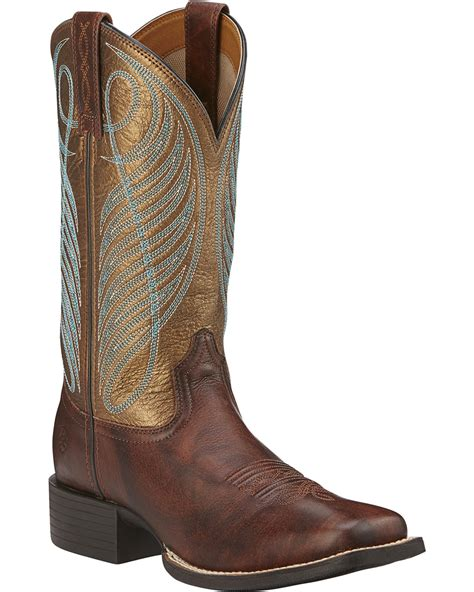 ariat square toe boots womens ariat s up boots square toe country