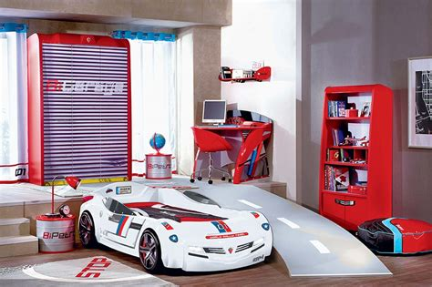Disney Cars Dresser And Mirror by Cars Bedroom Set Walmart Car Beds For Wayfair Racecar