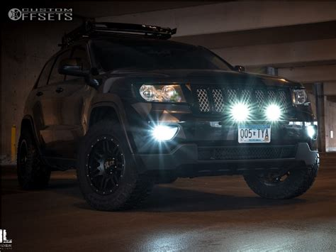 Jeep Grand 2013 Black Rims 2013 Jeep Grand Dx4 7s Rocky Road Outfitters