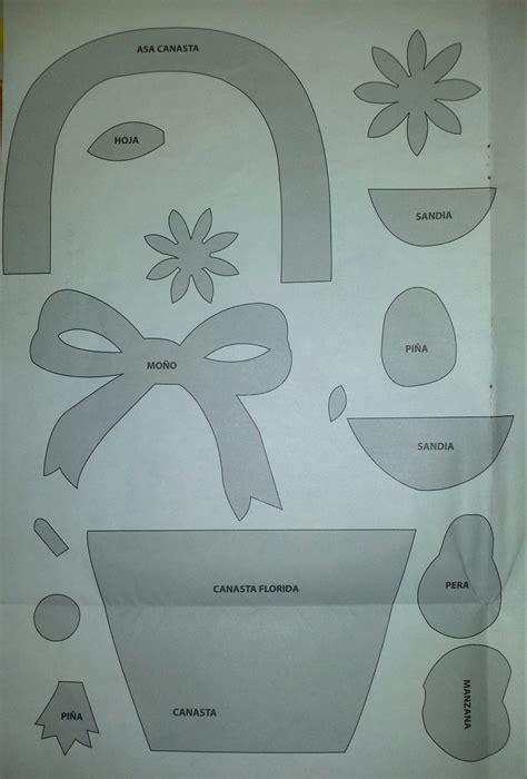 canastas para dulces foami manualidad canasta decorada con foami manualidades