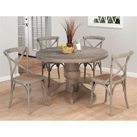 Dining Booth Table Jofran Booth Bay 5 Dining Table Set With X Back Chairs At Hayneedle