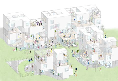 Best Architecture Offices by Riken Yamamoto Amp Field Shop Local Community Area Archeyes