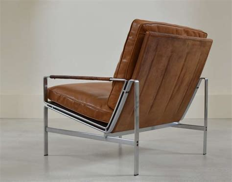 Designer Leather Armchairs Preben Fabricius And J 248 Rgen Kastholm Arm Chair At 1stdibs