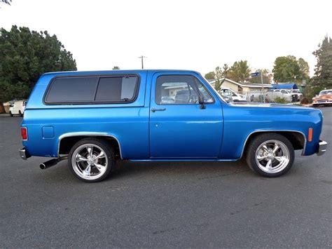 Californa Blazer 1979 chevrolet blazer k5 2wd solid california truck