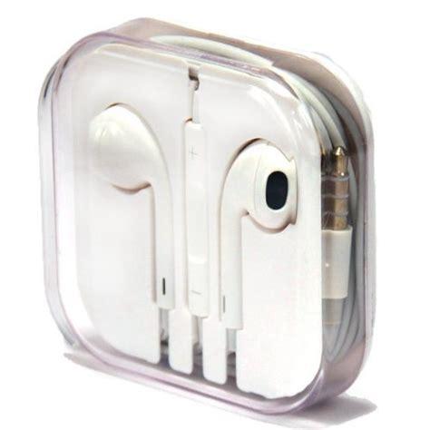 Apple Earphone Earpods Headset Original Remote And Mic apple oem original stereo earbuds earpods headphones