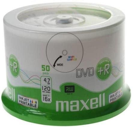 Dvd R Maxell 16x 47gb 505pcs maxell dvd r 4 7gb 16x inkjet printable cakebox 50pcs οπτικοι δισκοι max1103
