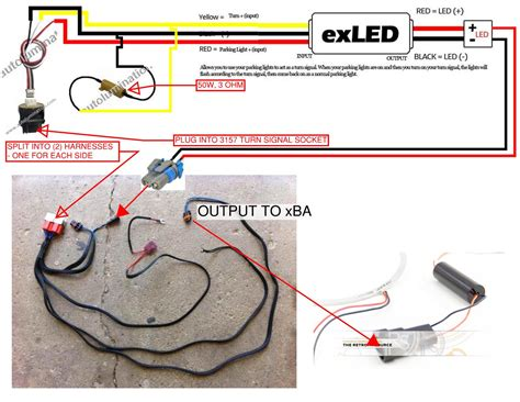 how to wire resistor for led turn signal do i this correct dodge ram xba turn signals hidplanet the official automotive