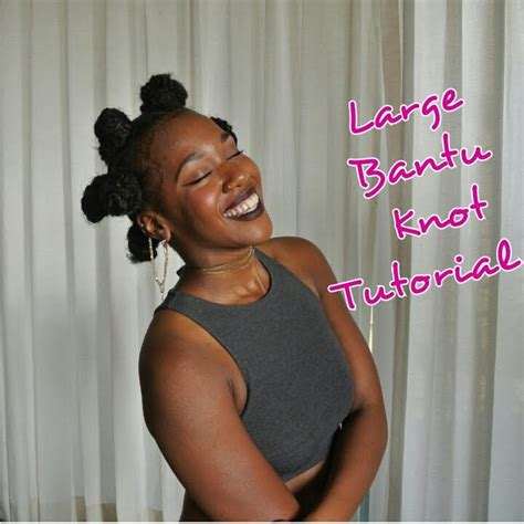 bantu knots with added hair large bantu knot tutorial with added hair youtube