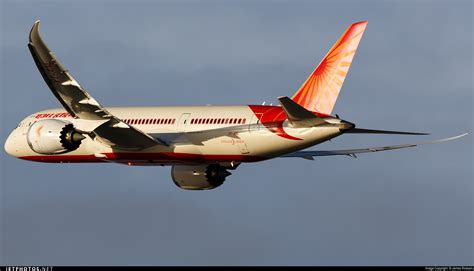 air india ai115 vt anl b787 dreamliner vt anl boeing 787 8 dreamliner air india