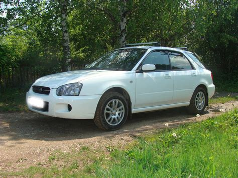 2004 Subaru Wagon by 2004 Subaru Impreza Wagon Photos 1 5 Gasoline Ff