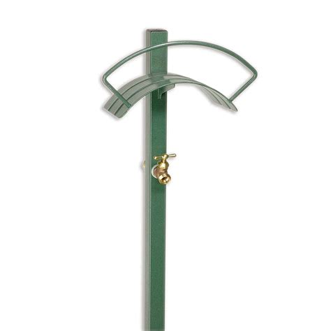 Outdoor Faucet Extension by Garden Hose Stand Holder Decorative Ground Stake