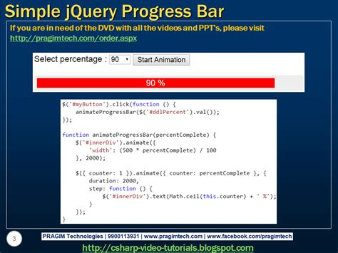 jquery tutorial video sql server net and c video tutorial simple jquery