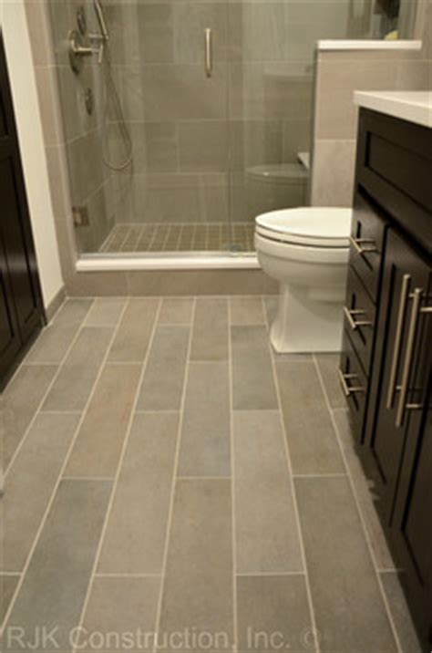 bathroom tile floor ideas bathroom plank tile flooring