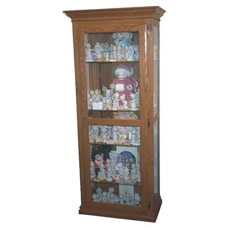 mission style curio cabinet mission curio cabinet plans cabinets matttroy