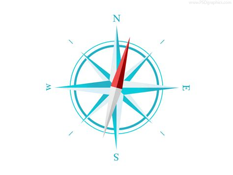 printable compass template simple compass template psd psdfinder co