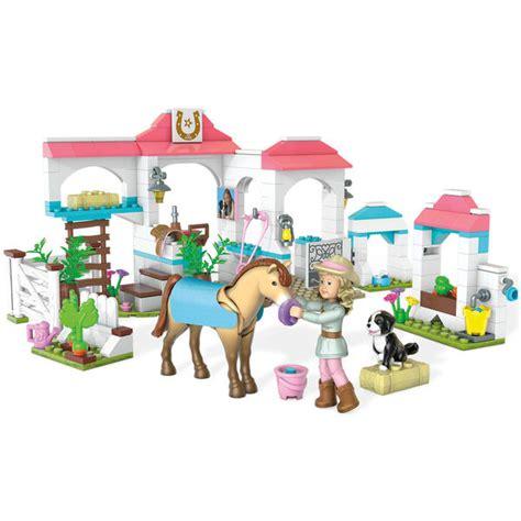 Mega Bloks Stable mega bloks american nicki s stables toys