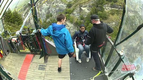 new zealand chair swing canyon swing chair queenstown new zealand youtube