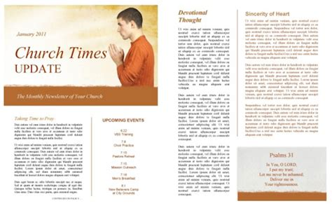 church newsletter templates free the power of a printable newsletter template sharefaith