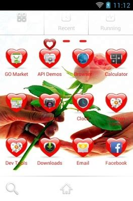 android themes rose rose for you android theme for go launcher androidlooks com