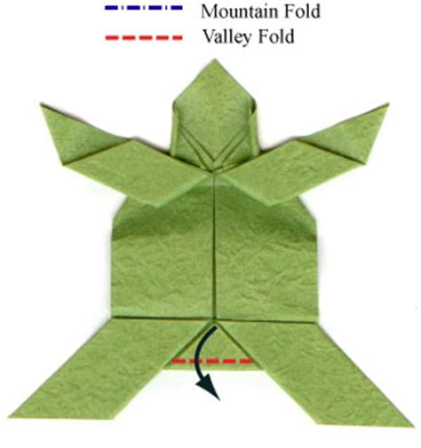 How To Fold A Paper Turtle - origami turtle diagrams 171 embroidery origami