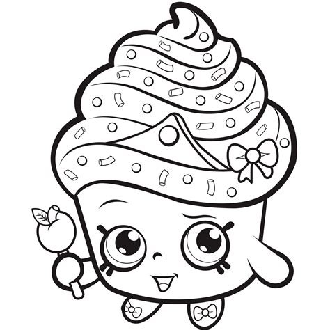 shopkins coloring pages easy shopkins coloring pages shopkins free printable and