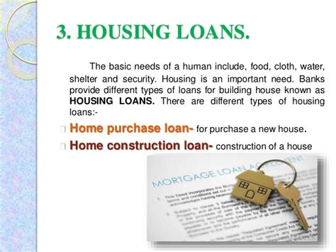 different types of house loans different types of loans in india