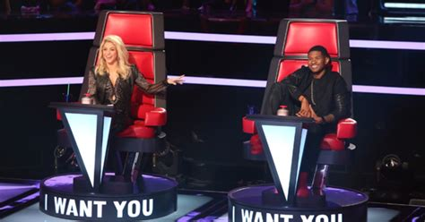 the voice recap usher goes country on blind auditions the voice premiere recap new coaches shakira and usher
